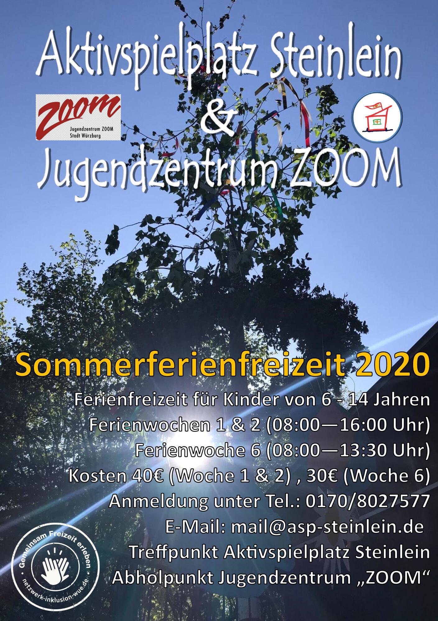 Plakat Sommerferien 2020