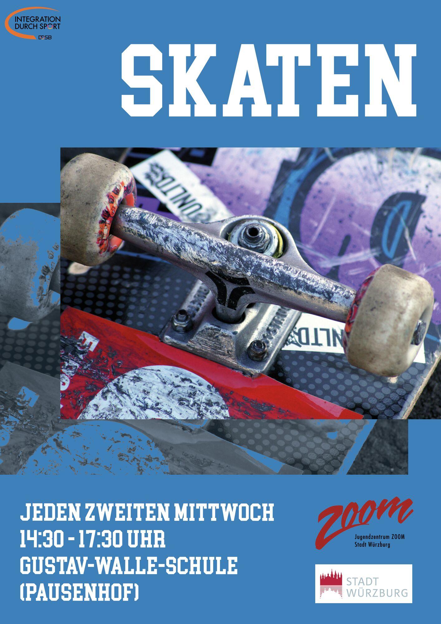 ZOOM Skaten Plakat DIN A2