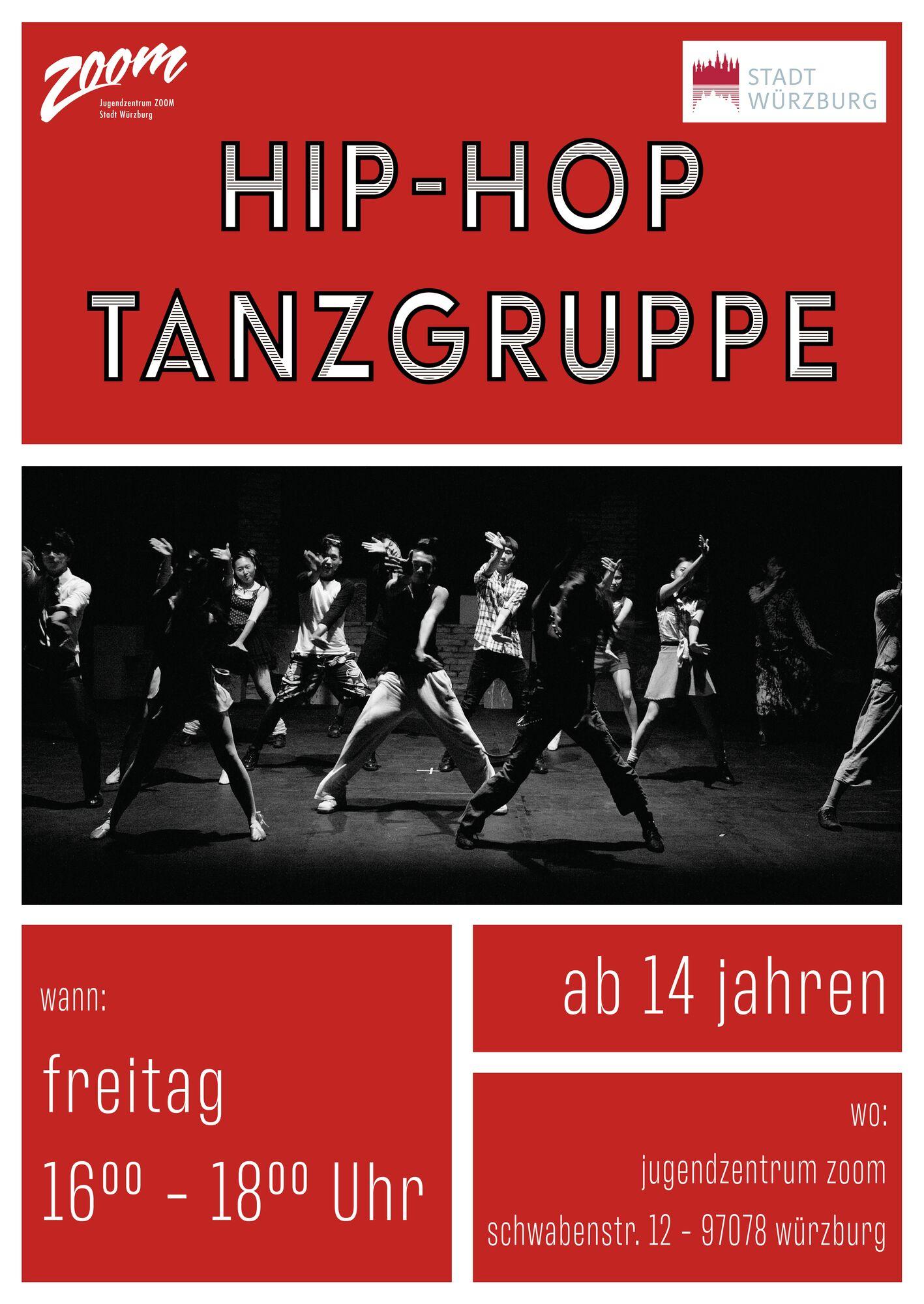 Hip-Hop Tanz Freitag DIN A2