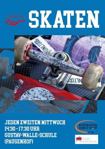 ZOOM Skaten Plakat DIN A2 klein